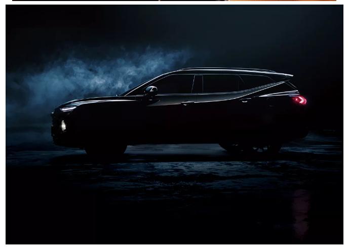 雪佛兰全新7座中大型SUV Chevro